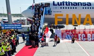 Bayern được chào đón như những nhà vô địch