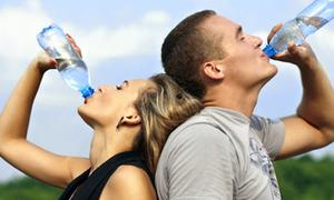 Uống nước chuẩn theo thời gian biểu