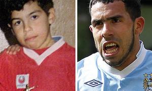 Những bức ảnh hiếm hoi thời con nít của sao bóng đá