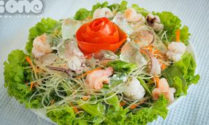 'Chén gọn' miến trộn hải sản cực kul cho mùa hè oi ả