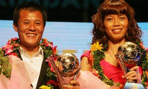Thành Lương đoạt Quả bóng vàng Việt Nam 2011