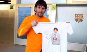 Lionel Messi chi tiền chữa bệnh cho 'bản sao' 12 tuổi