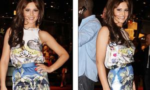 Cheryl Cole 'hoa lá cành', WAGs 'ngực bự' bất ngờ kín đáo