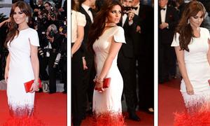 Cheryl Cole làm 'lu mờ' các ngôi sao tại LHP Cannes