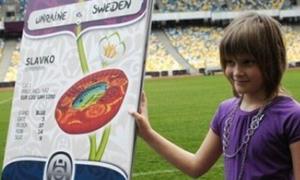 Vé Euro 2012 được thiết kế bởi một bé gái