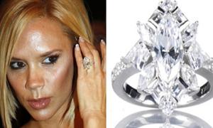 Mê mẩn ngắm BST nhẫn kim cương của Victoria Beckham