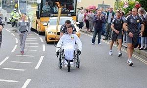 Ngọn đuốc Olympic London 2012 bất ngờ tắt ngúm