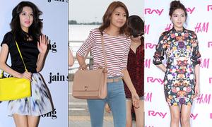 Check style của cô nàng chân đẹp Soo Young