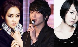 4Minute và SISTAR mê tít Jung Yong Hwa