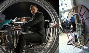 Xe đạp một bánh ngầu như trong phim 'Men In Black III'