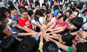 Căng 'như dây đàn' kỳ thi ĐH ở Trung Quốc
