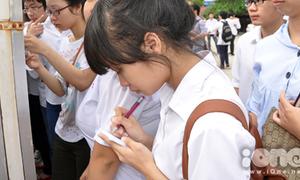 Tỷ lệ đỗ tốt nghiệp ở Nghệ An thấp hơn các tỉnh thành khác