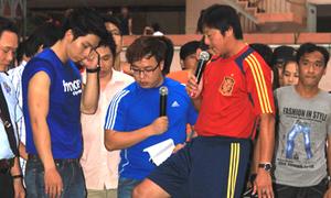 Lê Huỳnh Đức chỉ dẫn fan cách kiểm soát bóng