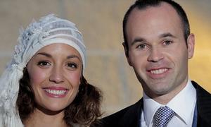 Đám cưới đẹp lung linh của Andres Iniesta