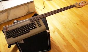 Máy tính 'lai' guitar độc của độc