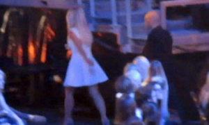 Britney Spears tức giận bỏ đi giữa chương trình X Factor