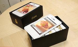 Hộp bánh ngọt iPhone chỉ muốn cắn ngay mấy miếng