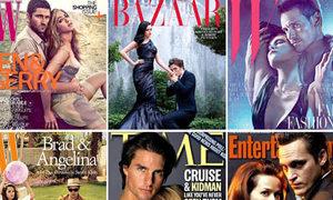 20 cặp bạn diễn sexy nhất Hollywood trên bìa tạp chí