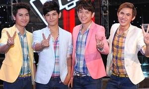 V.Music hào hứng làm phóng viên Giọng hát Việt