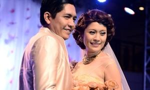 Thanh Thúy làm cô dâu sang trọng bên chú rể Đức Thịnh