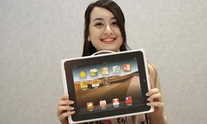 Hộp bánh ngọt cho dân 'nghiện' iPad