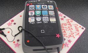 Bánh gateaux giống iPhone đến giật mình