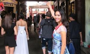 Hoàng My thức trắng với lịch trình Miss World