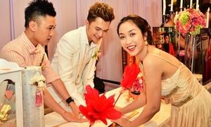 Nam Cường, Don Nguyễn làm tiếp tân tiệc cưới sếp