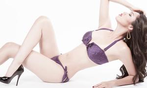 Hoàng My khoe dáng nuột cùng bikini 2 mảnh