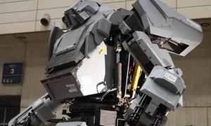 Robot khổng lồ điều khiển bằng smartphone