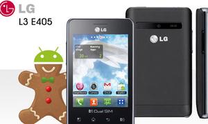 LG Optimus L3 E405 2 sim có giá 3,1 triệu đồng