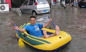 Trung Quốc: Khi ngập lụt trở thành niềm vui sống