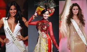 Những nhan sắc dính 'sao quả tạ' tại Miss World