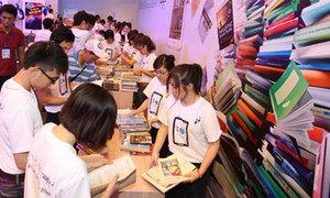 Ngày hội đổi sách lấy Galaxy Tab 2