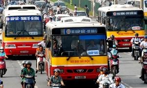 Vé xe buýt Hà Nội tăng 2.000 đồng/vé