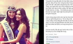 Hoàng My bênh vực Miss World 2012
