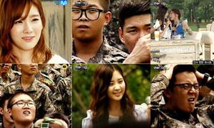 Lính Hàn 'phát cuồng' vì giám khảo Taetiseo