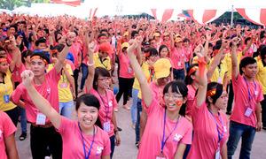 5.000 bạn trẻ nhảy flashmob, hô vang 'Tôi yêu Việt Nam'