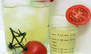 Đẹp da với nước ép cà chua