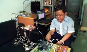Thần đồng công nghệ thông tin 10 tuổi