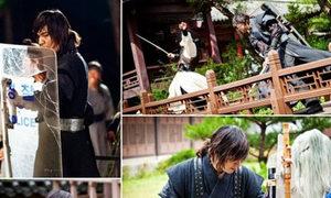 Lee Min Ho đánh đấm vô cùng lãng tử