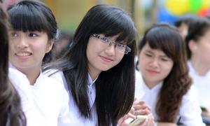 Teen Chu cực xinh trong lễ khai giảng