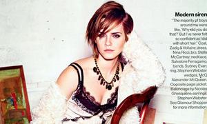 Emma Watson đọ long lanh cùng Kristen Stewart