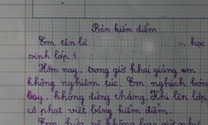 Một bức thư cực hay về ngày khai trường