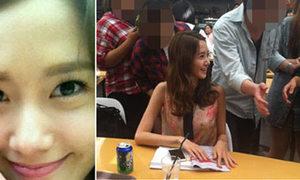 Yoon A SNSD bị fan 'quây' ở trường học