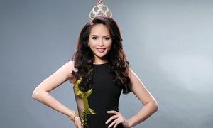 Hương Thảo khoe trang phục dự thi Hoa hậu Siêu Quốc Gia