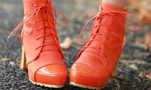 Chuyển mình ngày lạnh cùng giày bốt captoe