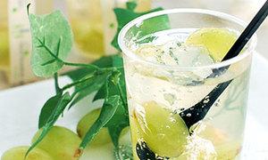 Thạch nho rượu vang trong suốt ăn cực thích