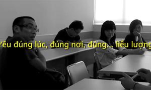 Cười rung phổi trước clip 'Cám dỗ đời sinh viên'