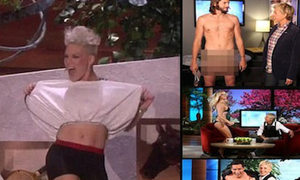 Sao Hollywood hở đủ chỗ trên Ellen DeGeneres show